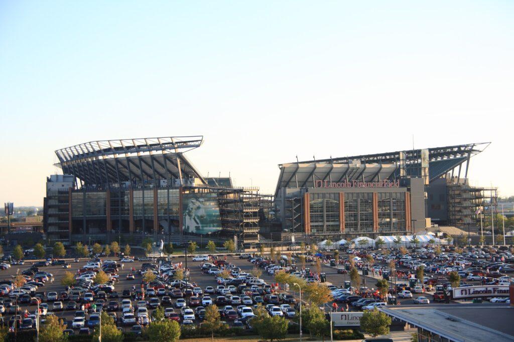 Lincoln Financial Field in Philadelphia.