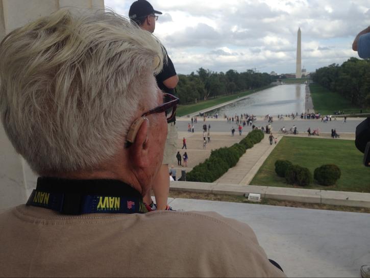 Lincoln Memorial looking East.
