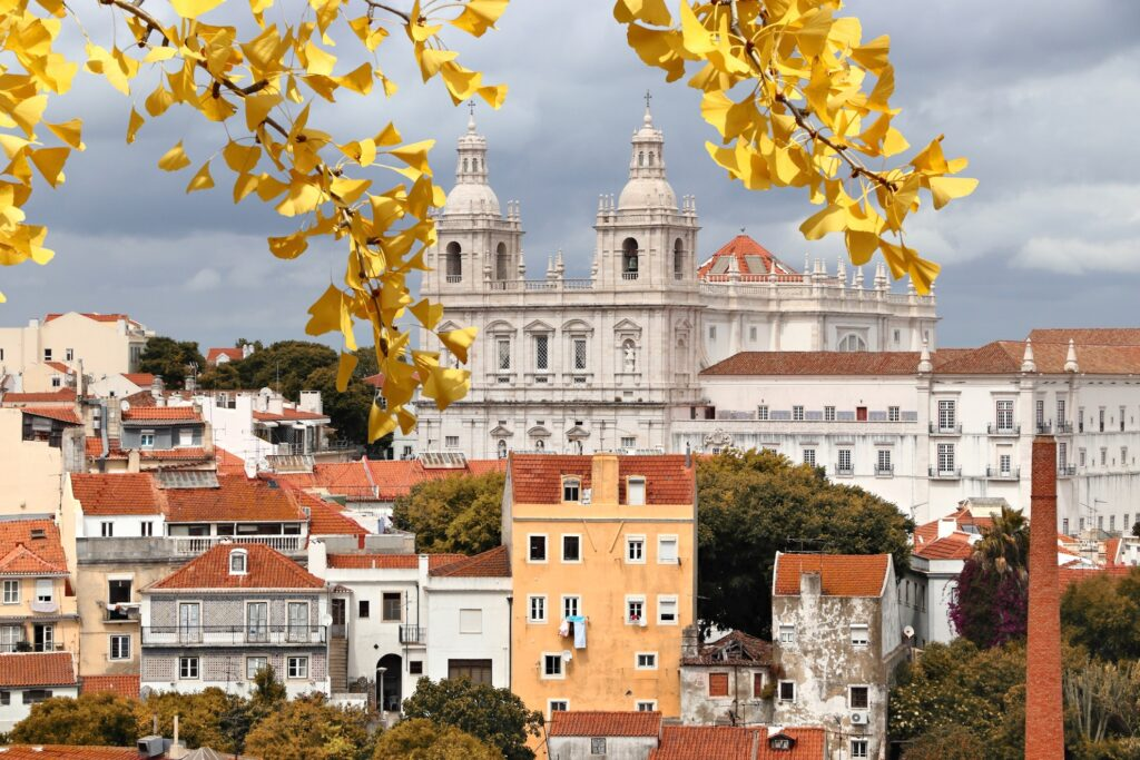 Lisbon, Portugal, in the fall.