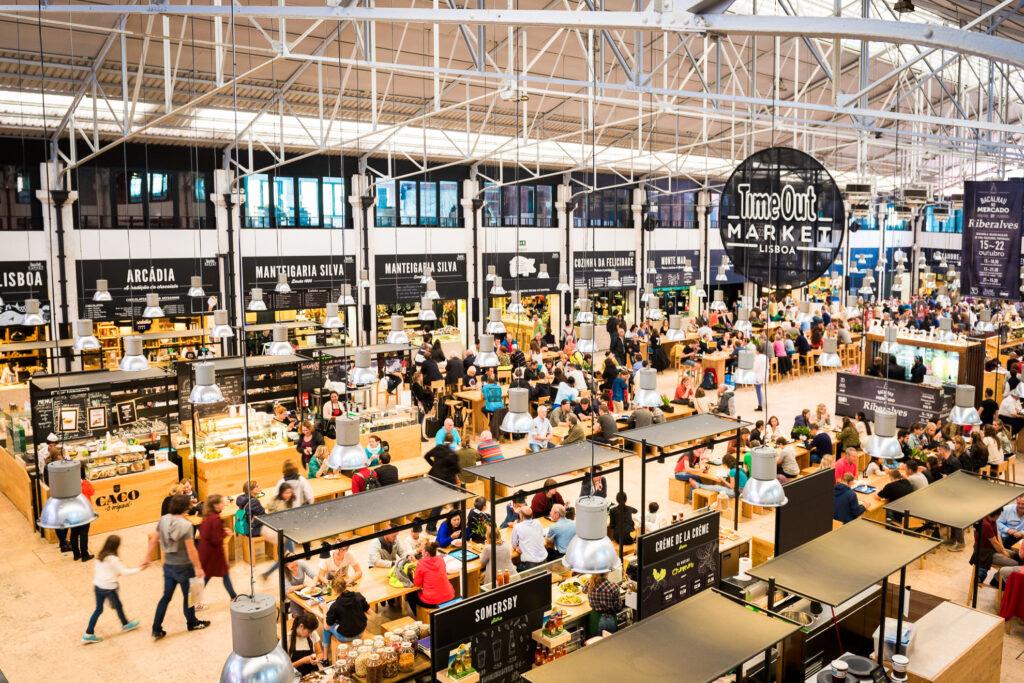 Lisbon's Time Out Market.