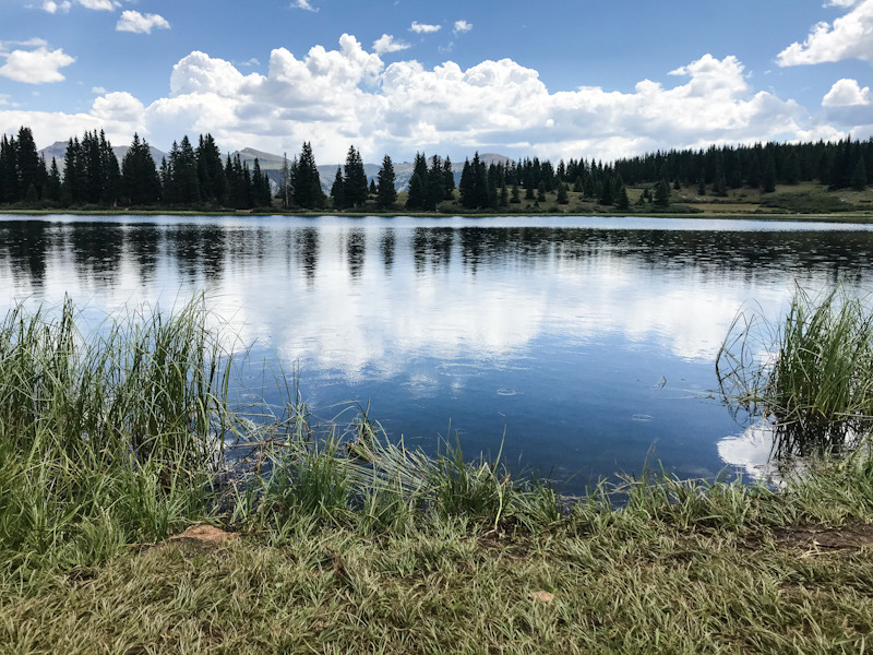 Little Molas Lake in Colorado.