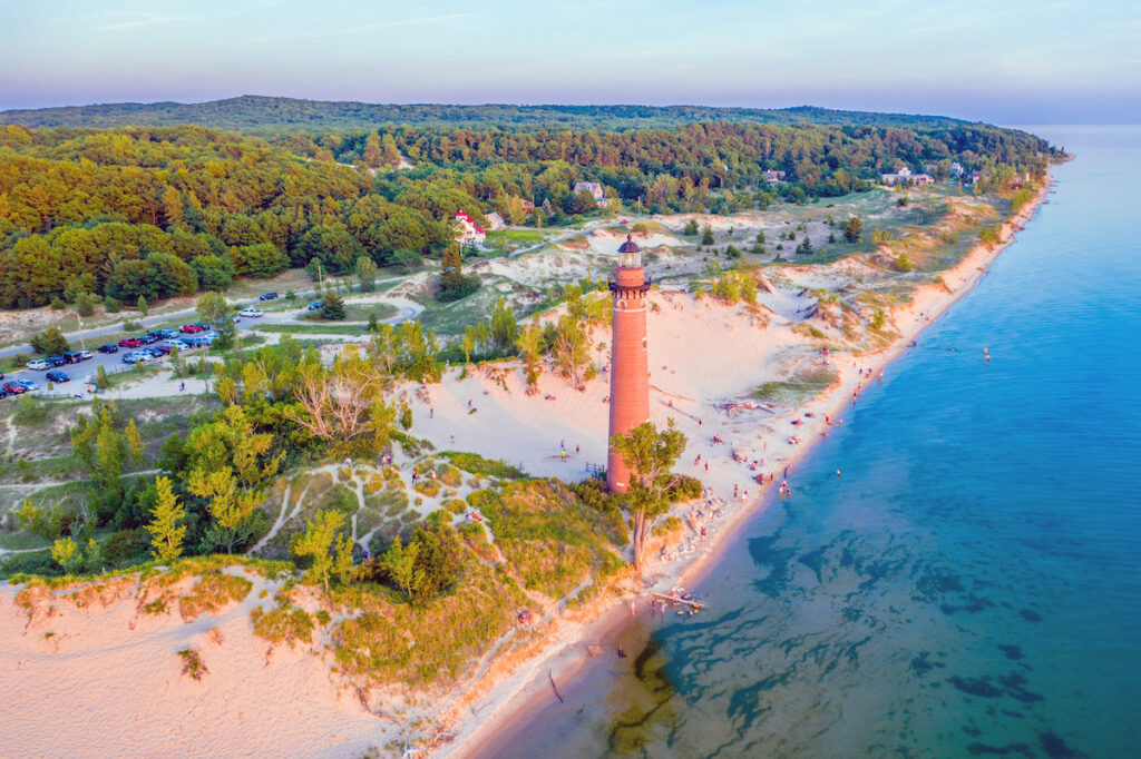 Little Sable Point Lighthouse in Michigan.