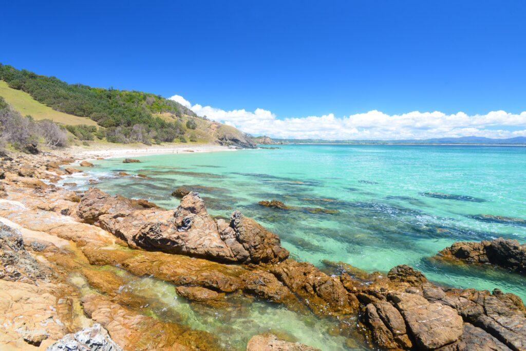 Little Wategos Beach in Byron Bay.