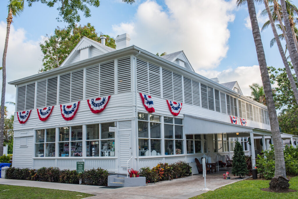 Little White House in Key West, Florida.