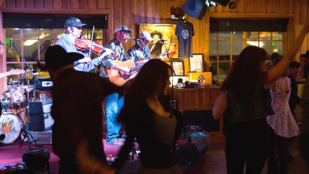Live music at The Silver Dollar.