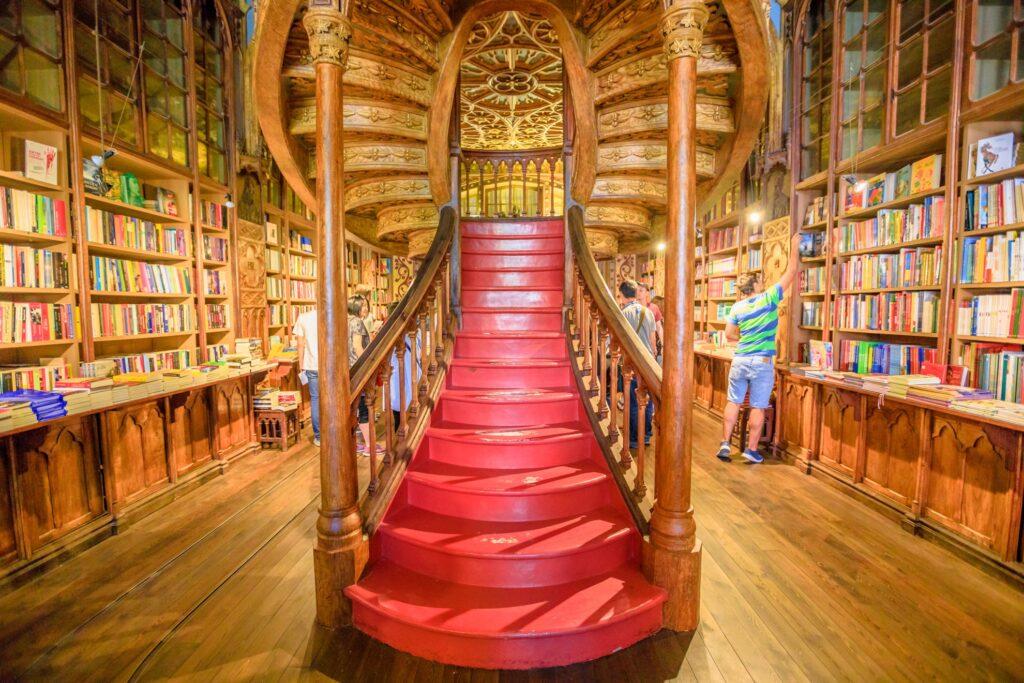 Livraria Lello in Portugal.
