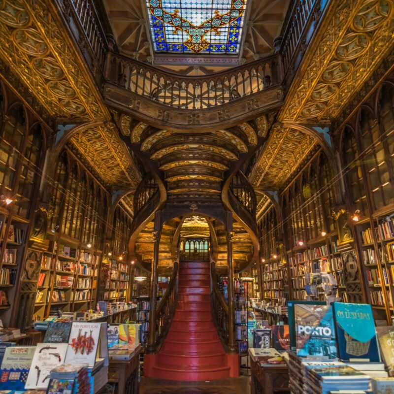 Livraria Lello, Portugal's Stunning Bookshop.