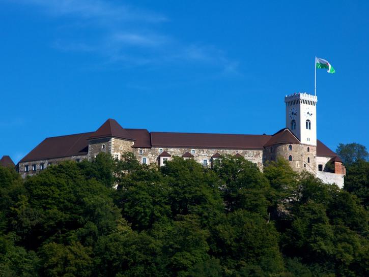 LjubljanaCastle, Slovenia.