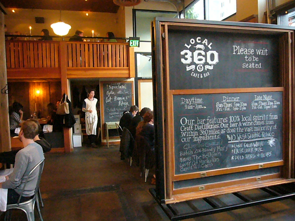 Local 360 cafe and bar Seattle