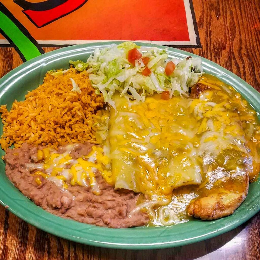 Local Mexican cuisine in Las Cruces.