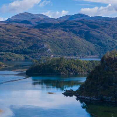 Loch Moidart in Scotland.