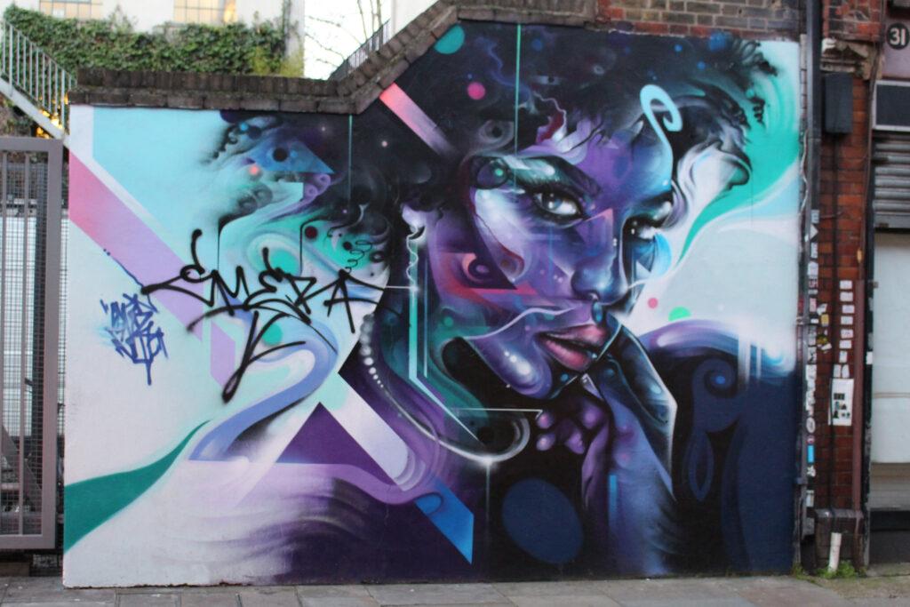 London street art by Mr. Cenz