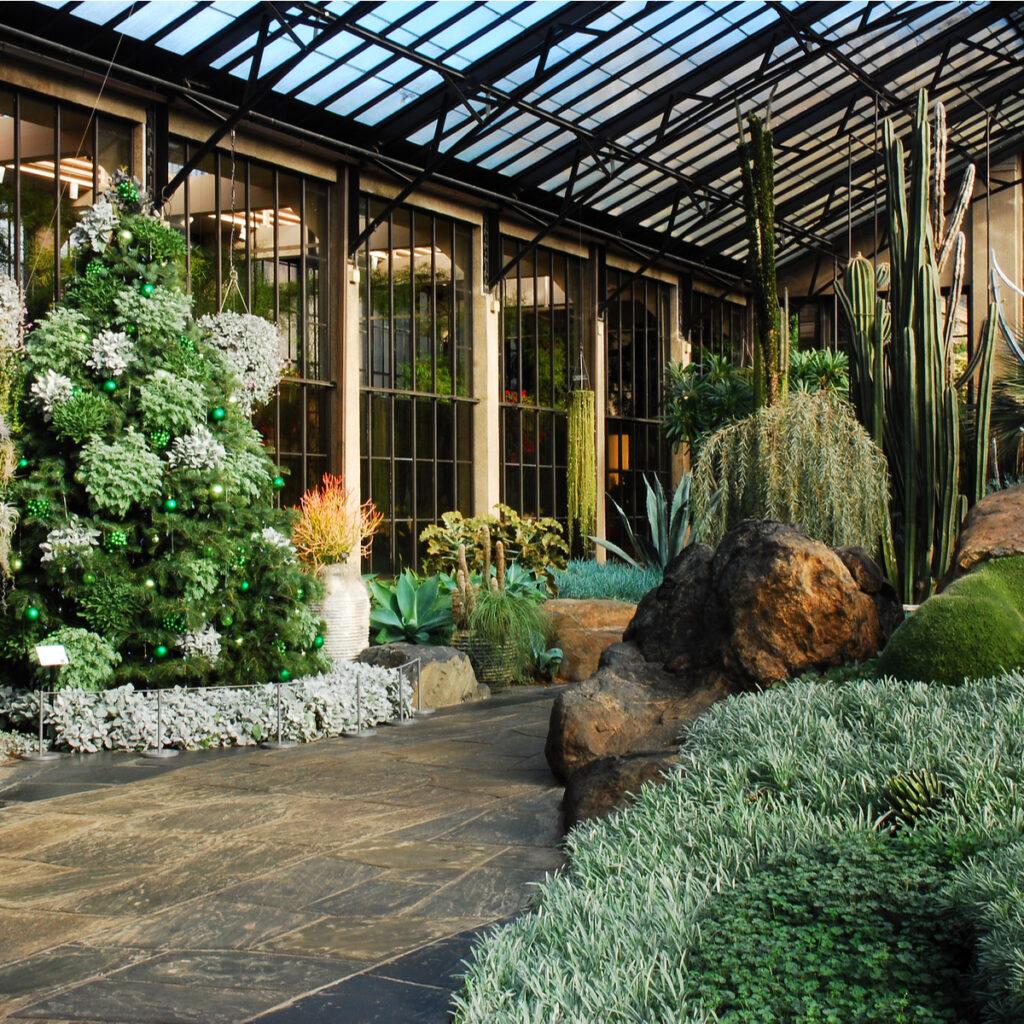 Longwood Gardens in Kennett Square, Pennsylvania.