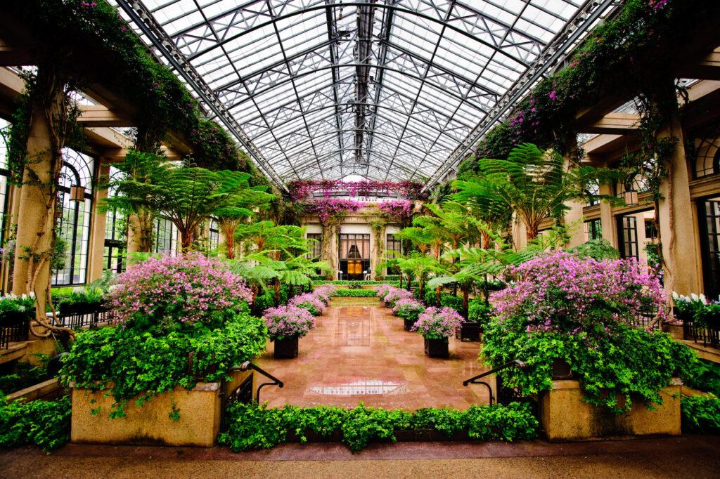 Longwood Gardens near Philadelphia.