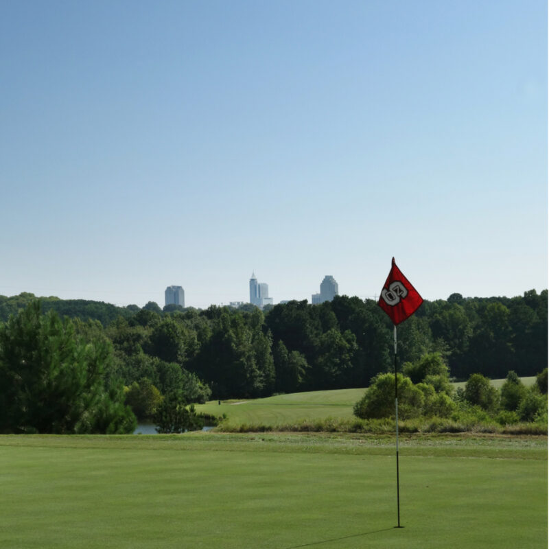 Lonnie Poole Golf Course in Raleigh, North Carolina.