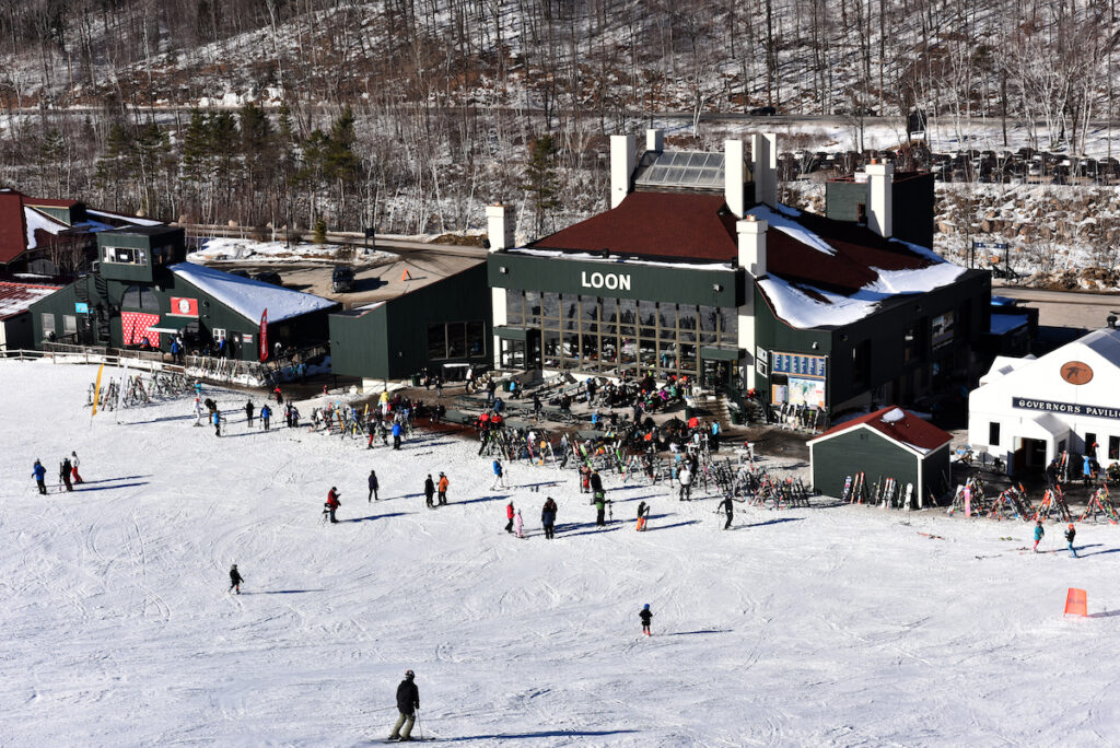 Loon Mountain in Lincoln, New Hampshire.