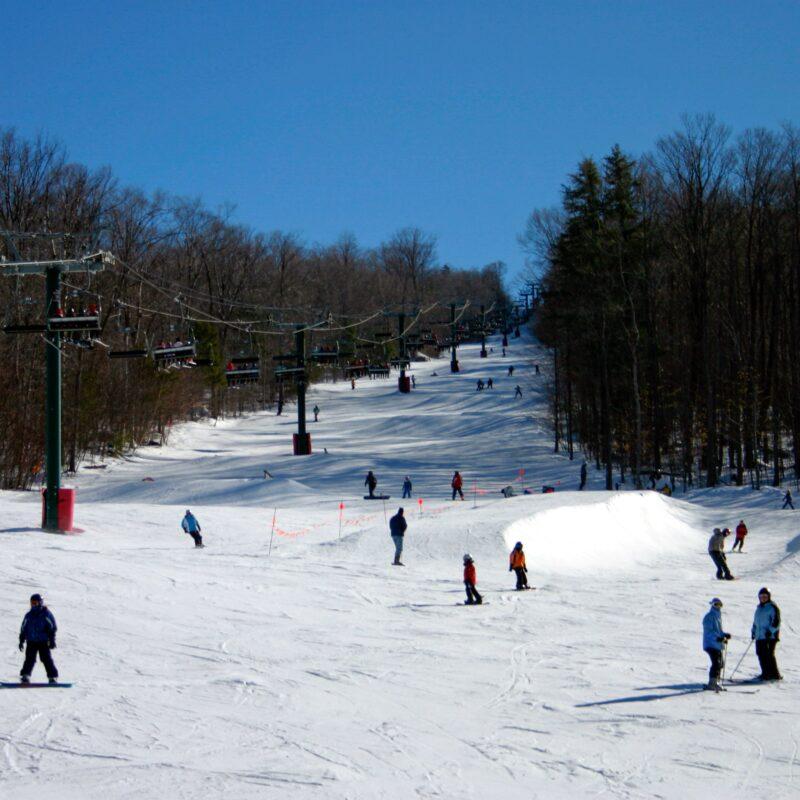 Loon Mountain Ski Resort in New Hampshire.