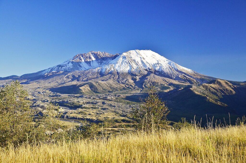 Loowit, or Mount Saint Helens, in Washington.
