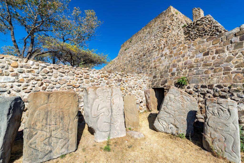Los Danzantes of Monte Alban.