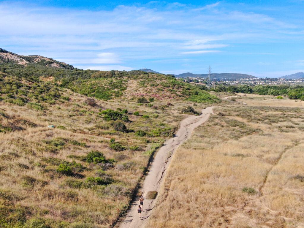 Los Penasquitos Canyon Trail near Poway, California.