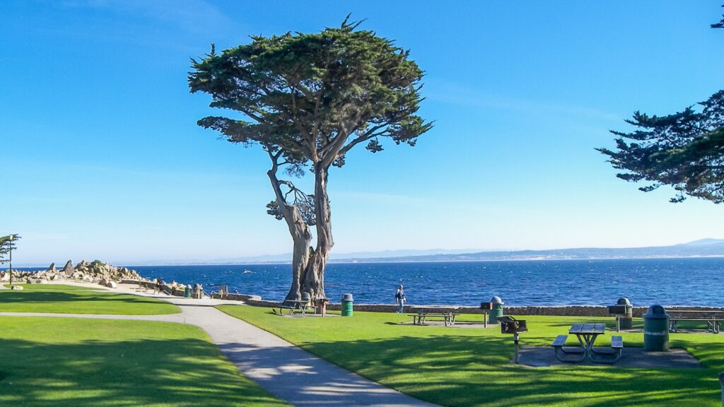 Lover's Point in Pacific Grove, California.