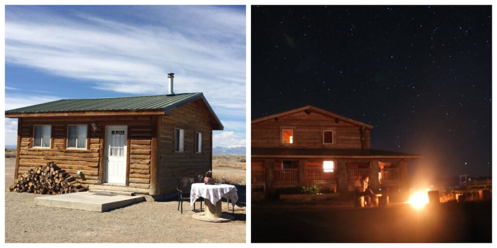 Lucky Little Dog House in Alamosa, Colorado.