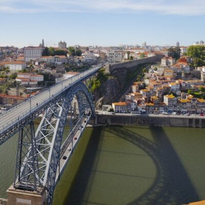 Luís I Bridge in Porto, Portugal