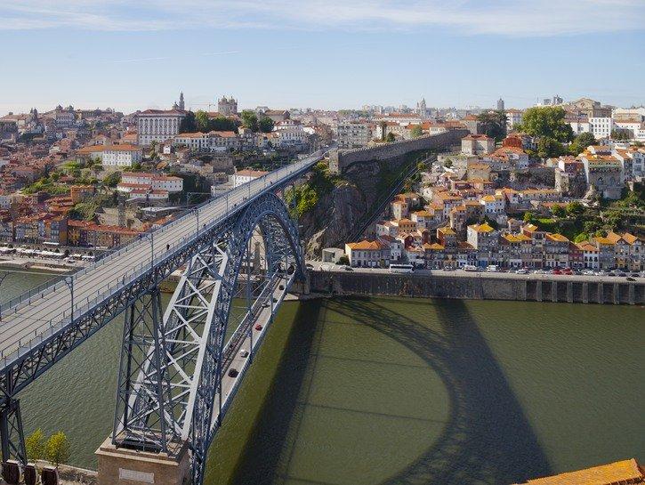 Luís I Bridge in Porto, Portugal
