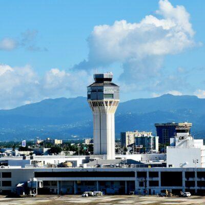 Luis Munoz Airport in Puerto Rico.
