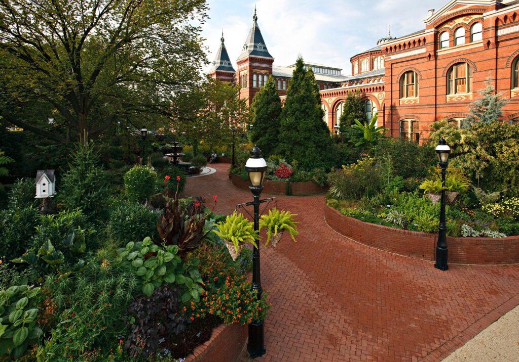 Lush Ripley Garden in Washington D.C.