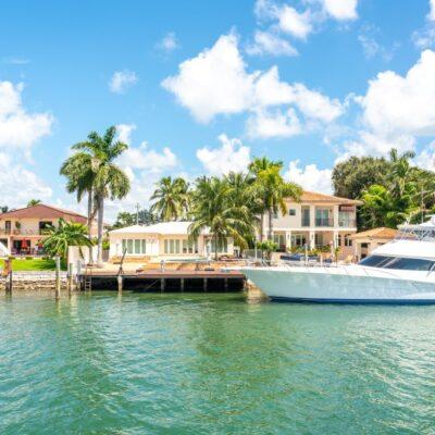 luxury beach home in Miami, Florida