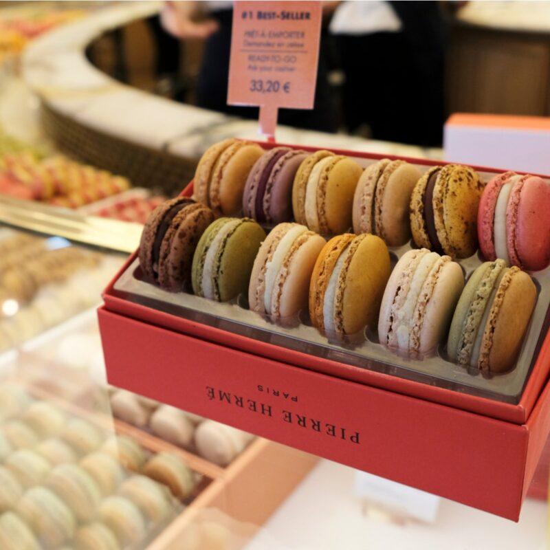 Macarons from Pierre Herme in Paris