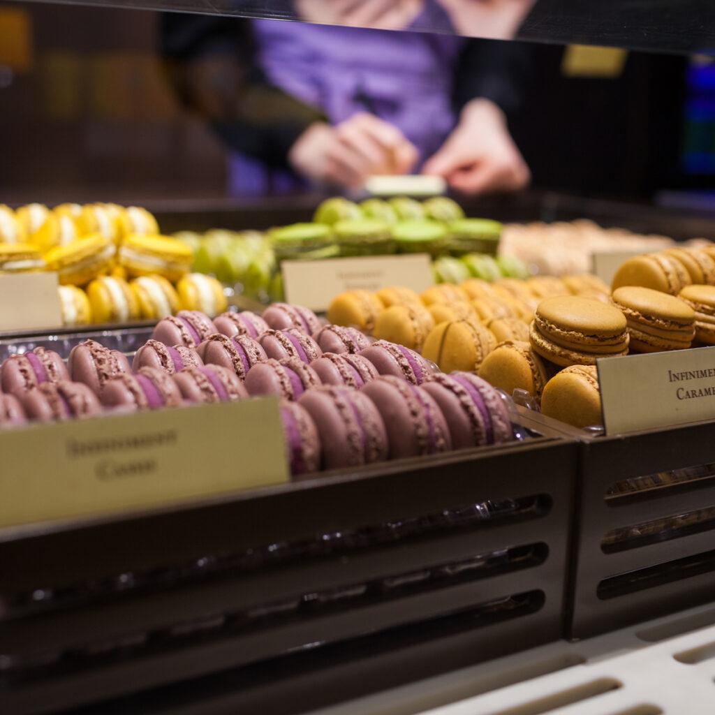 Macarons from Pierre Herme in Paris.
