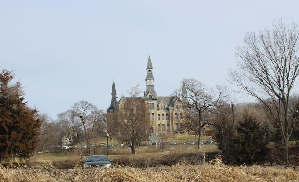 Mackay Hall, Park University, Parkville, Missouri.