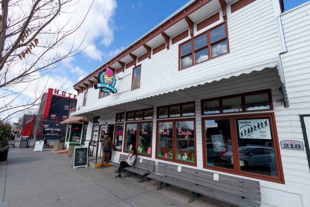 MacKay's Ice Cream in Cochrane, Alberta.