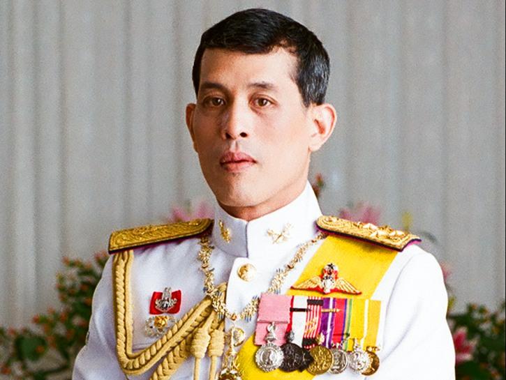 Maha Vajiralongkorn, King of Thailand in uniform.
