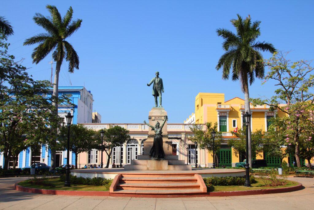Main square of Matanzas, Cuba.
