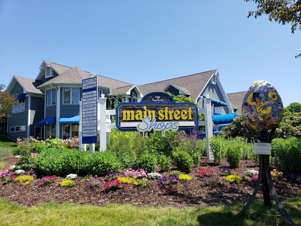 Main Street Shops at Egg Harbor in Wisconsin.