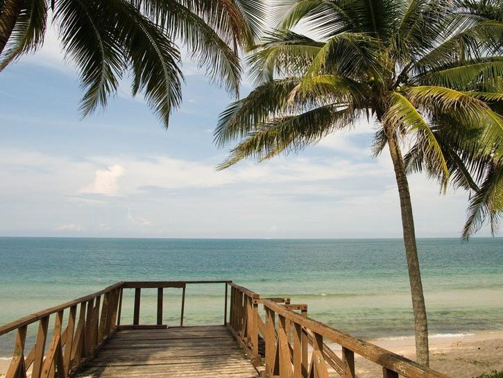 Malaysian coast
