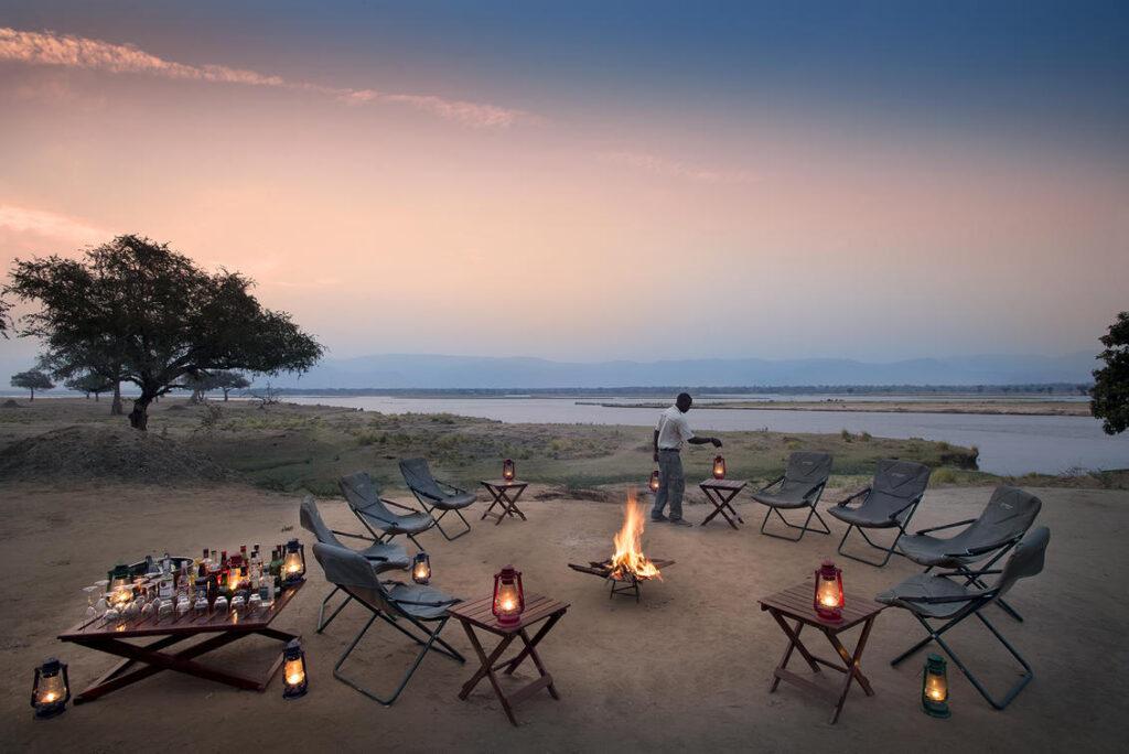 Mana Pools National Park in Zimbabwe.