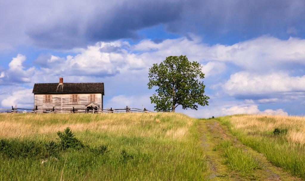 Manassas National Battlefield Park in Virginia.