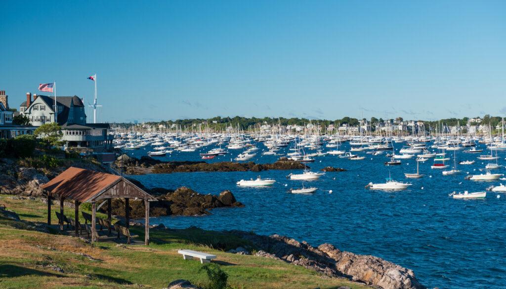 Marblehead harbor in Massachusetts.