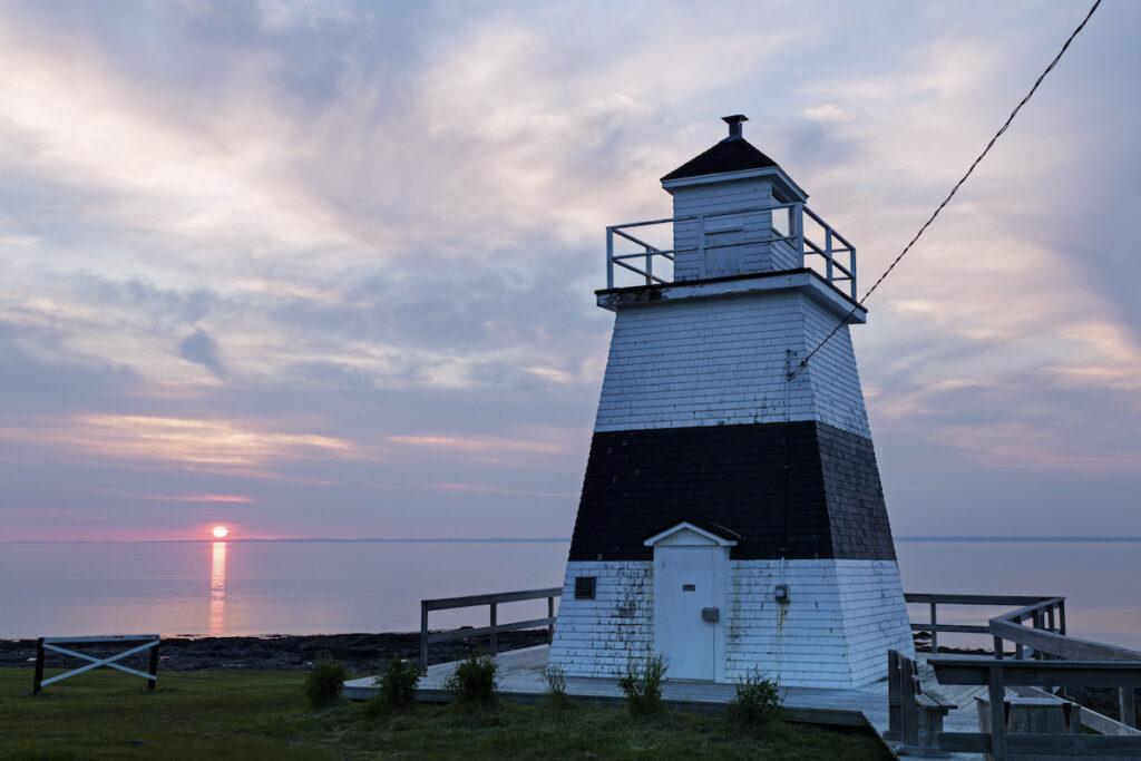Margaretsville lighthouse, Nova Scotia, Canada.