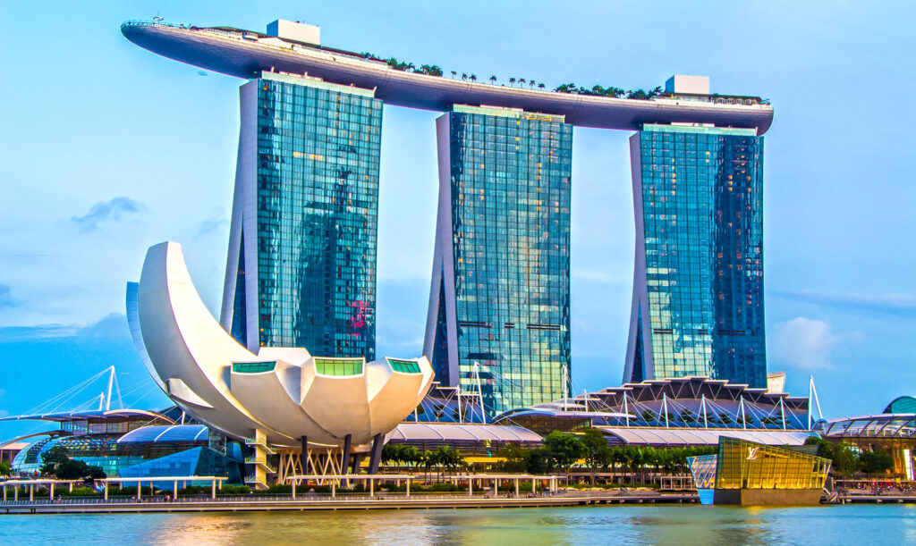 Marina Bay Sands in Singapore.