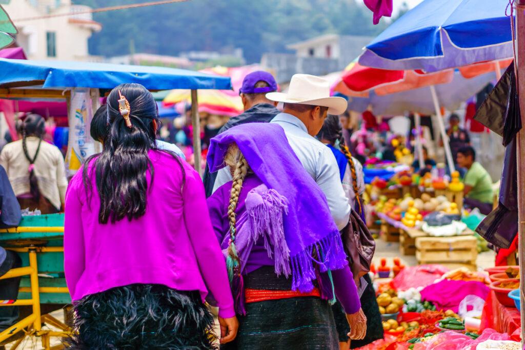 Market, Chamula, Mexico.