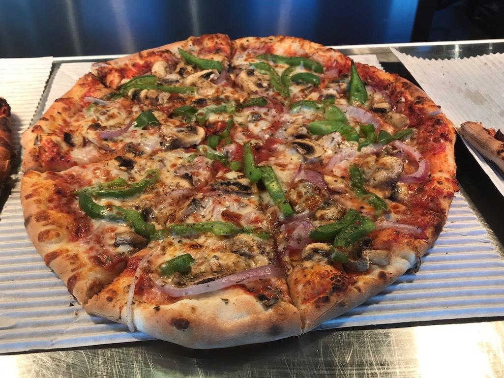 Martha's Pizza in Grand Rapids, Michigan.