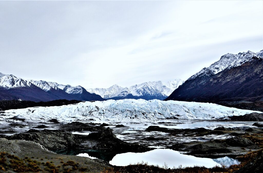 Matanuska Glacier, north of Anchorage.