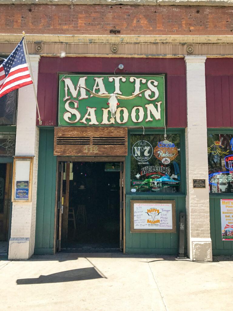 Matt's Saloon, Whiskey Row, Prescott, AZ.
