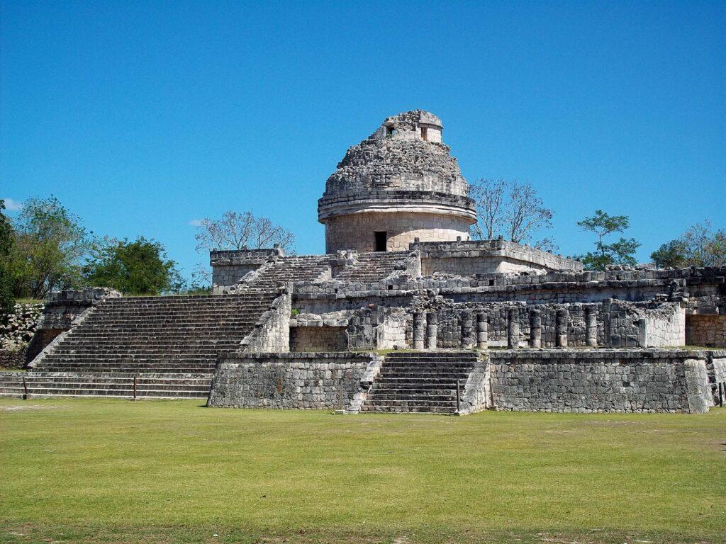 Mayan ruins in Chichen Itza, Mexico.