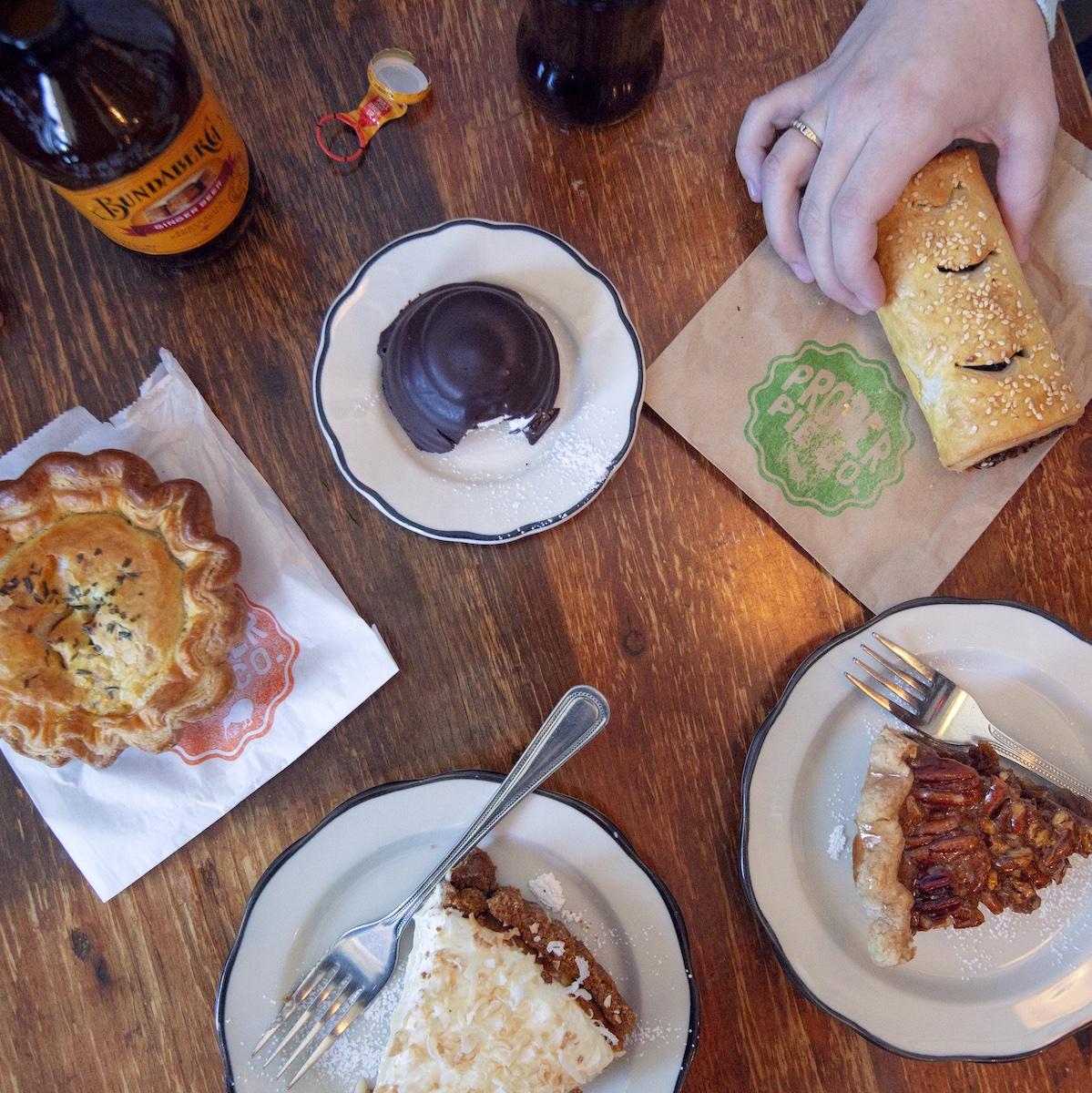 Meals at Proper Pie Co.